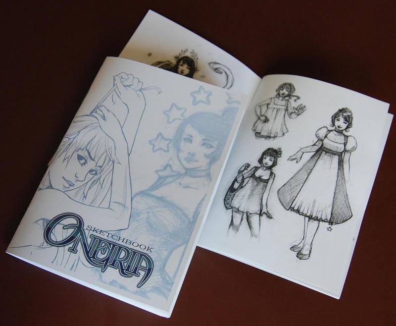 Sketchbook Oneiria by drawingum