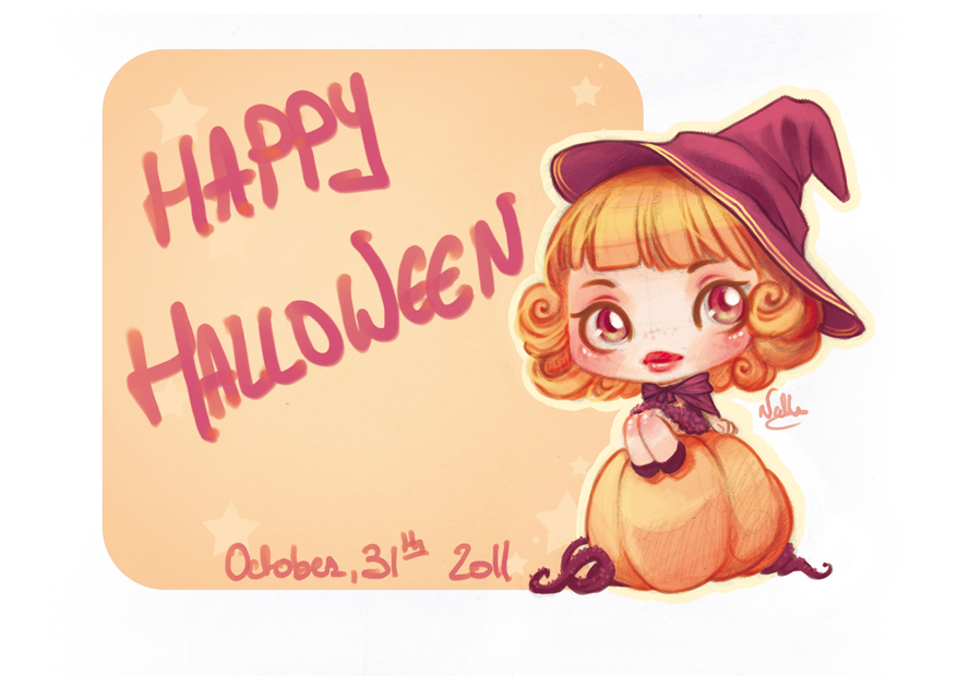 Happy Halloween 2011 by drawingum