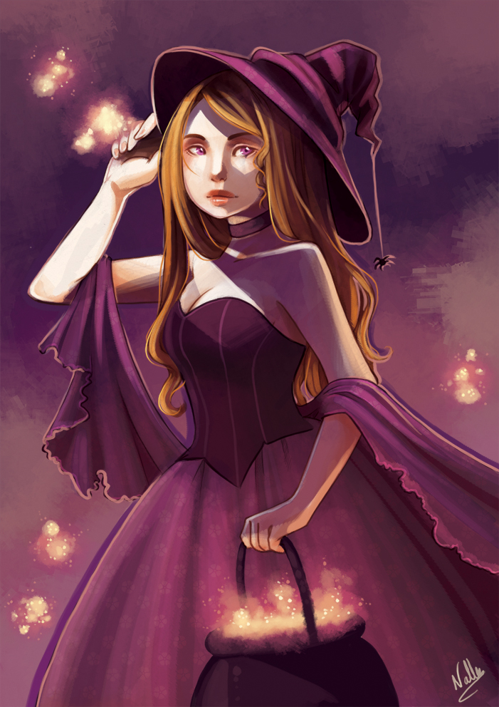 Witch by drawingum