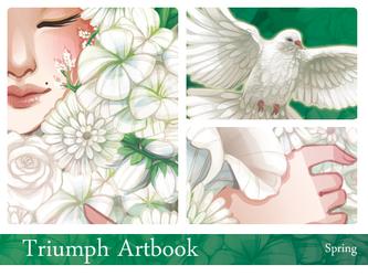 Triumph Artbook - Spring by drawingum