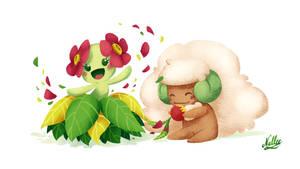 [Pokemon] Bellosson and Whimsicott