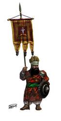 Ethiopian Dwarfs - standard bearer by thefeatheredsnake