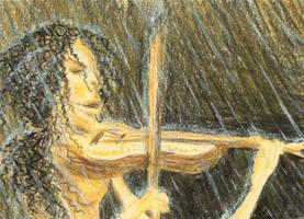 Geigenspieler by sockenzombie