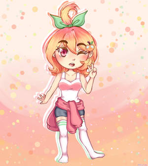A Peach Chibi