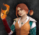 Triss Merigold from The Witcher 3 Wild Hunt
