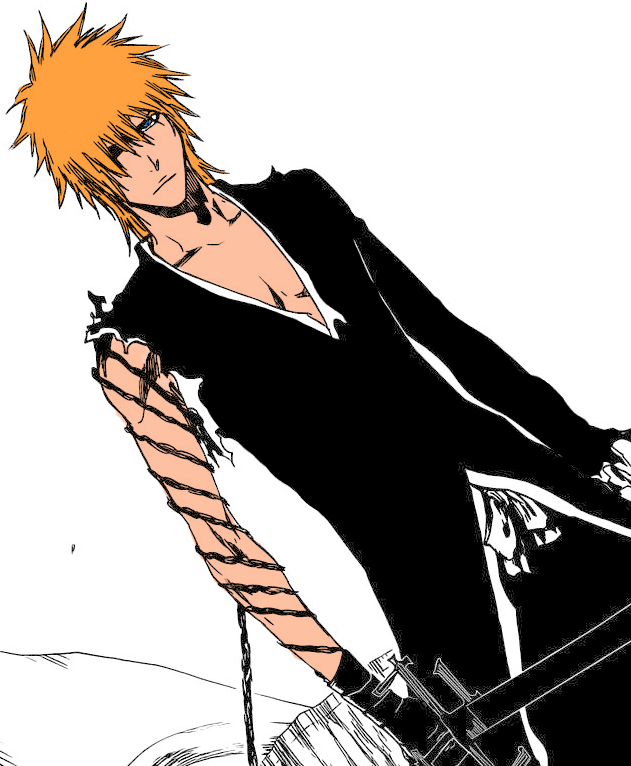 Long Haired Ichigo LowQuality by - 227.9KB