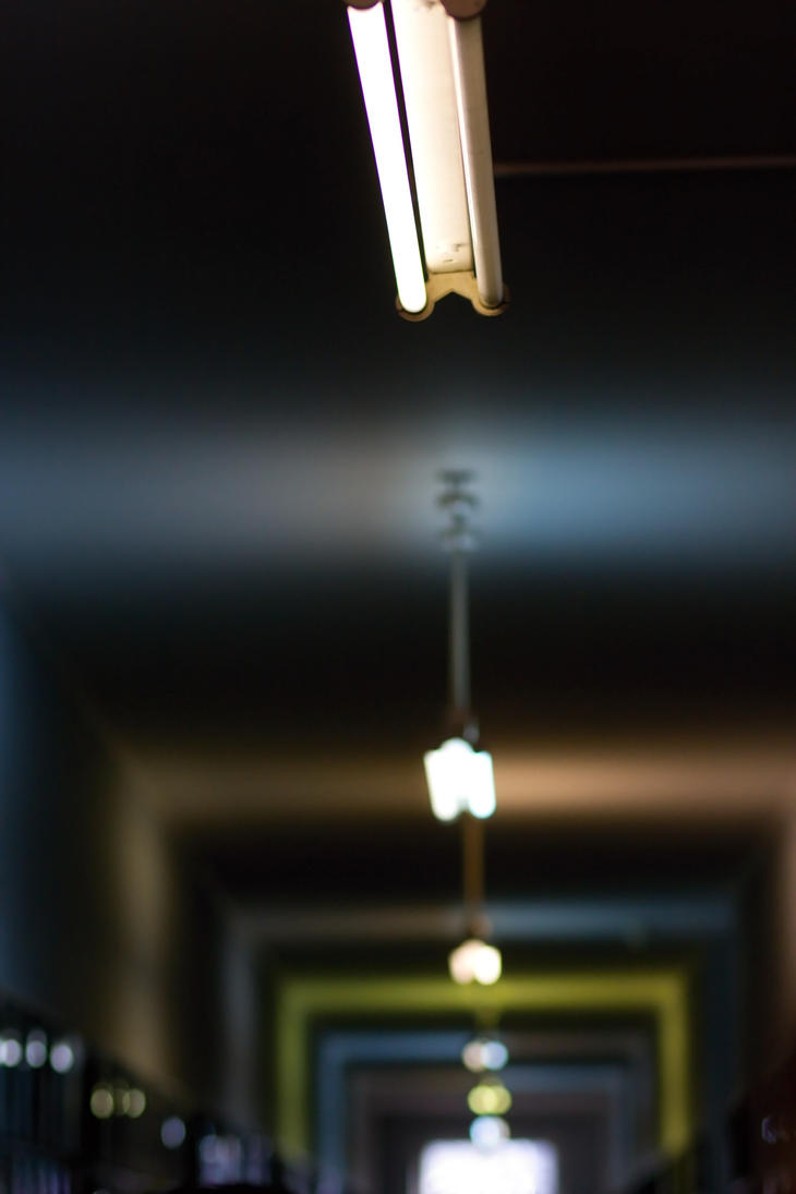 Dark Hallway by dejdy