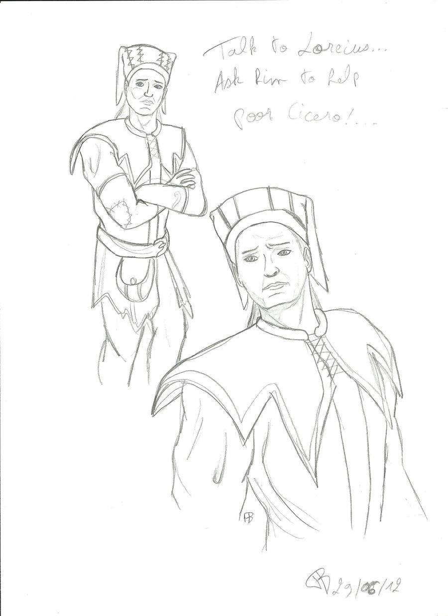 Poor Cicero... by Alphagoth