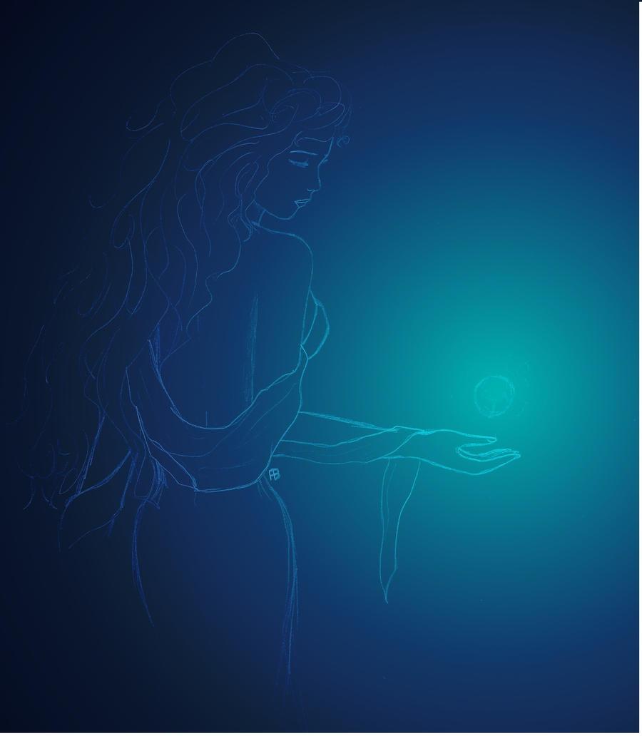 Lady Blue 2 by Alphagoth