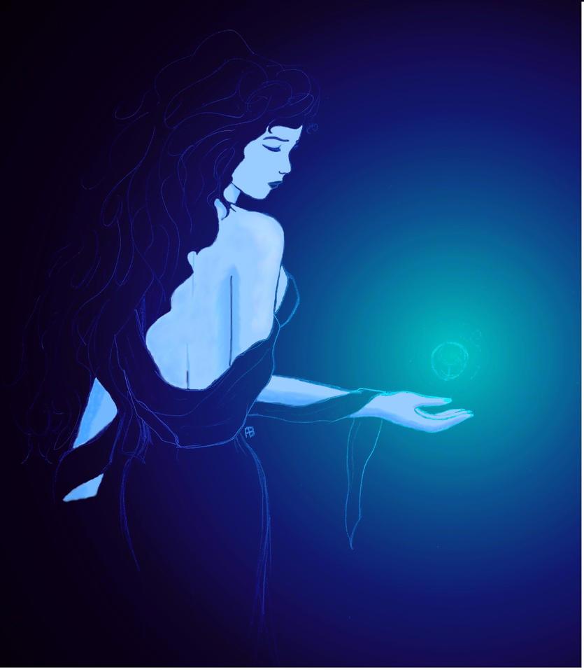 Lady Dark Blue by Alphagoth
