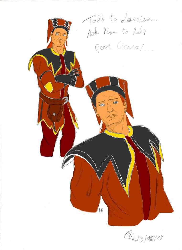 Cicero in progress by Alphagoth