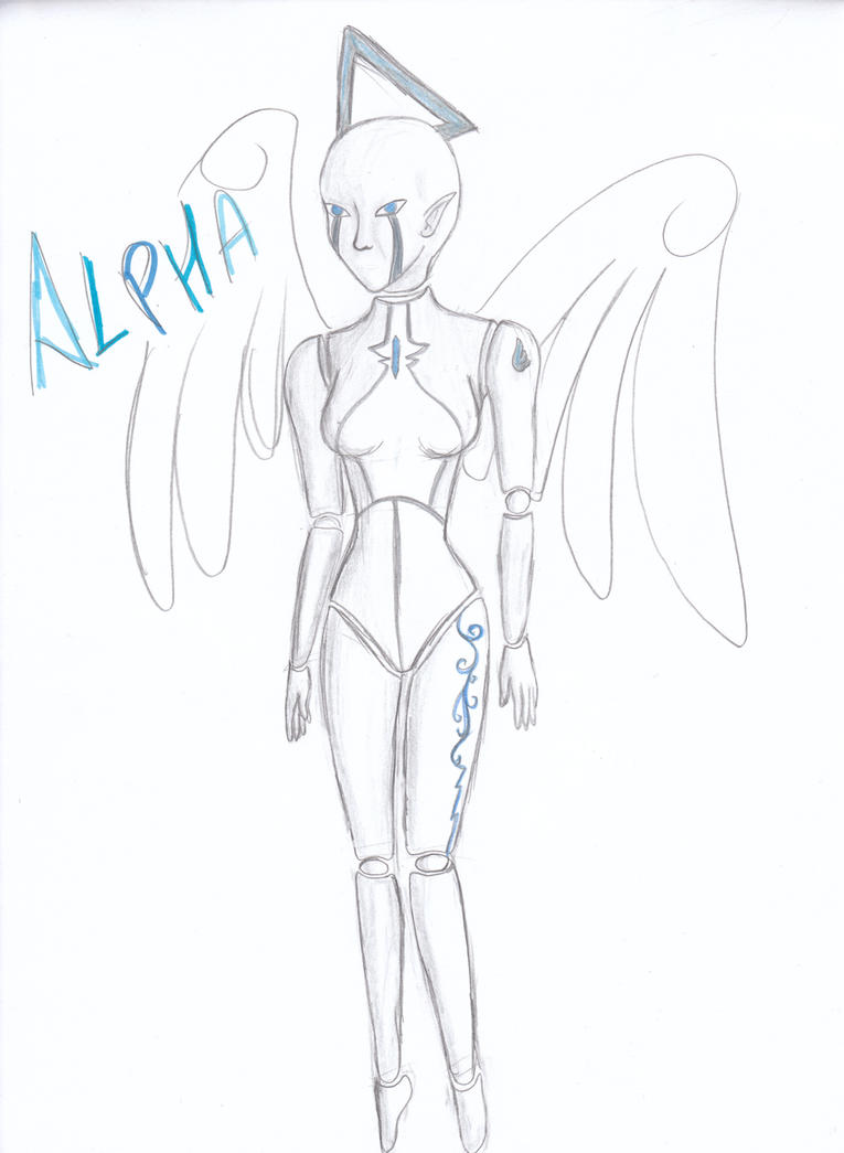 Alpha pencil by Alphagoth