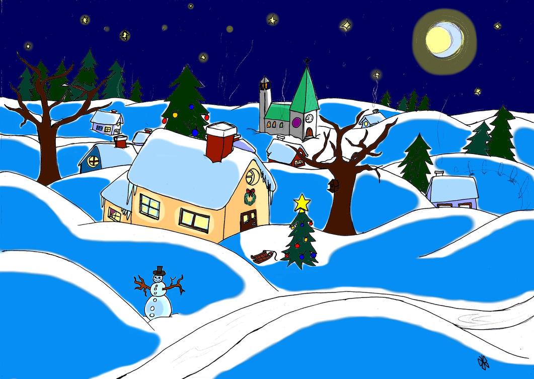 Winter by Alphagoth