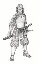 Samurai Guy by aca