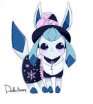 Shiny Glaceon Witch Contest