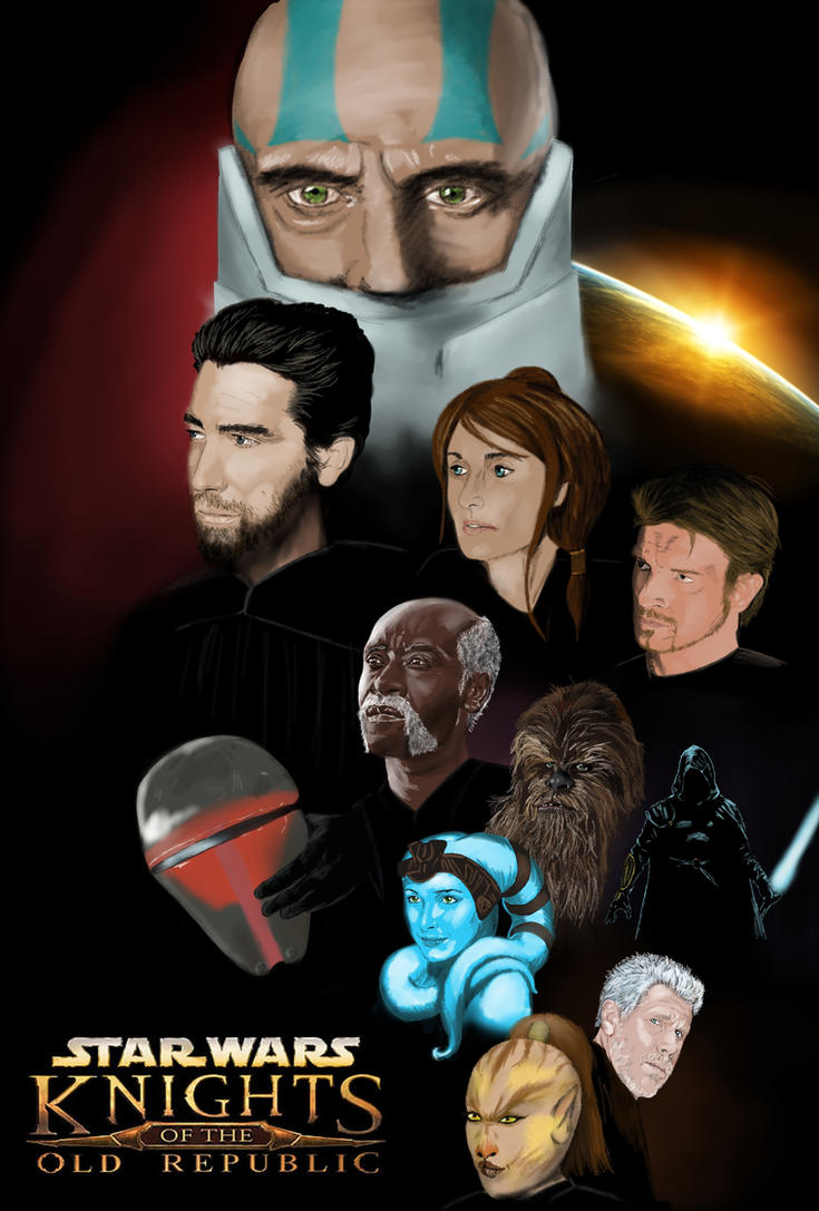Knights of the Old Republic by workofaart