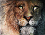 Aslan - Chronicles of Narnia by Devoratus