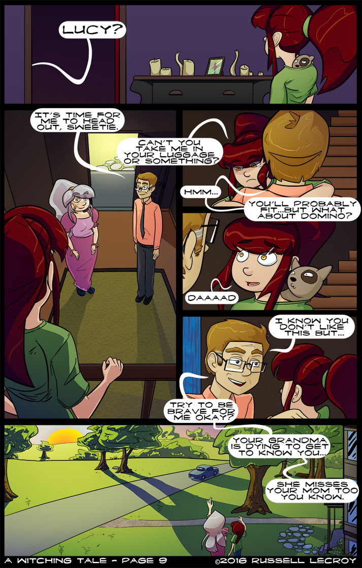 A Witching Tale -page 9 by Russell-LeCroy