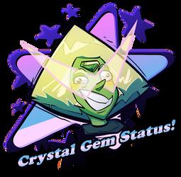 Peridot - Crystal Gem Status by Russell-LeCroy