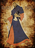 Paul of Tarsus by spicemaster