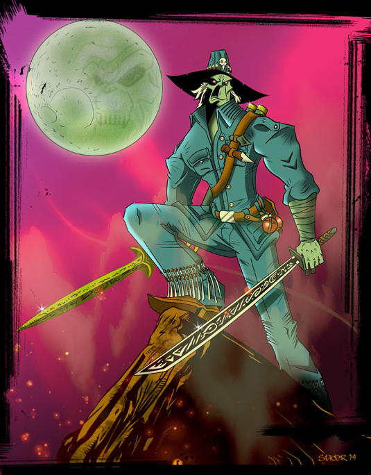 Chakan the Foreverman by spicemaster