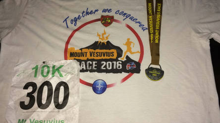 Mt. Vesuvius 10K Run 1:25:14 by TigerStormac