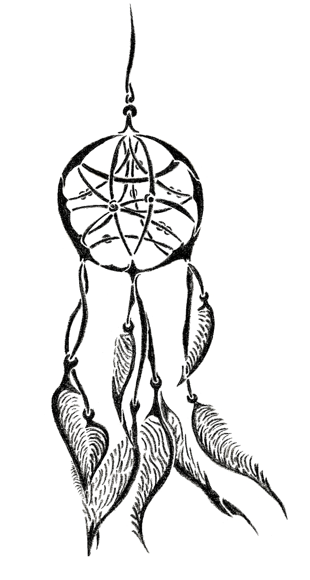 Tribal dreamcatcher by charintium on deviantart for Dreamcatcher tattoo template