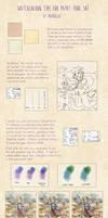 Watercolour tips for Paint Tool SAI by Naddillu