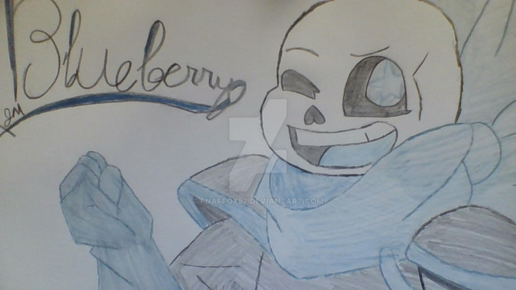 Blueberry /Swaptale Sans by fnaffox87