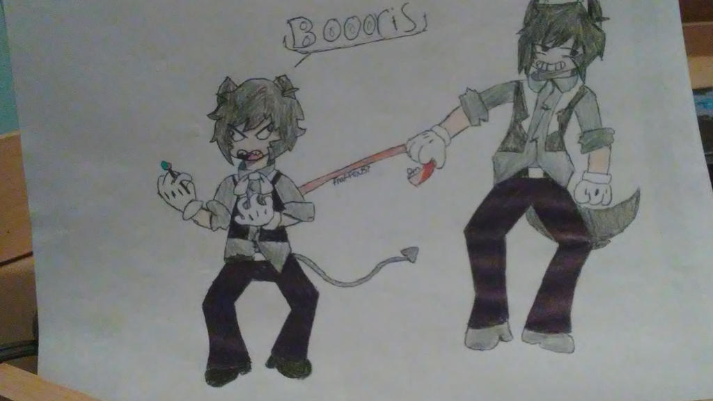BOOOORIS  by fnaffox87