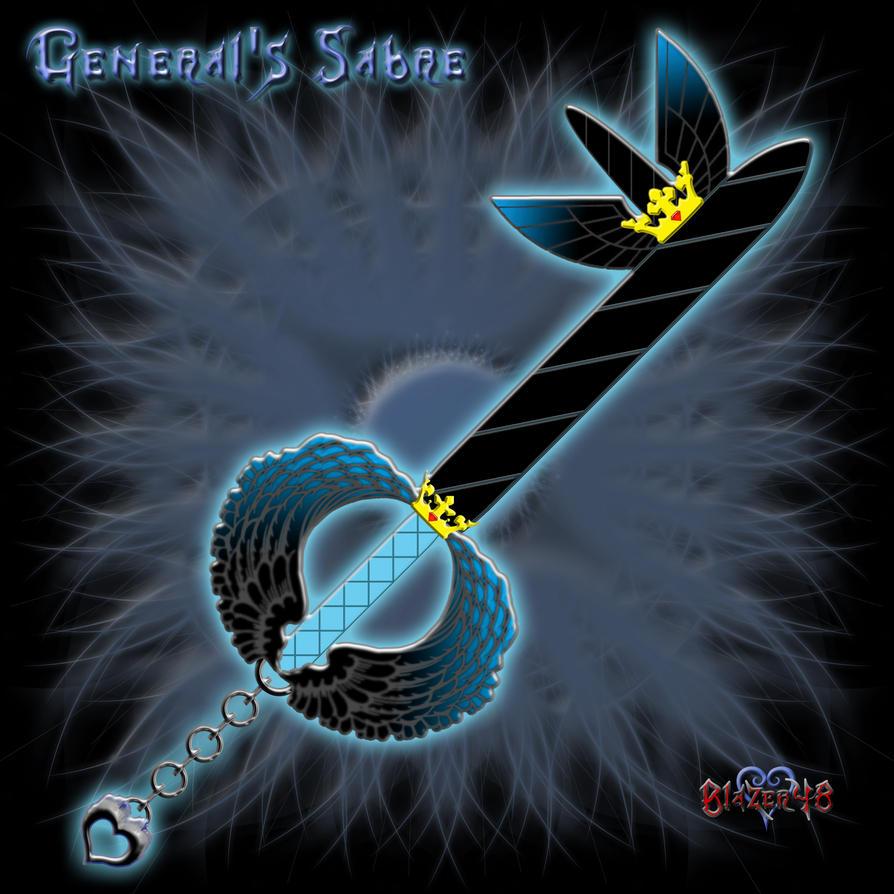 Keyblade: General's Sabre by Blazer48