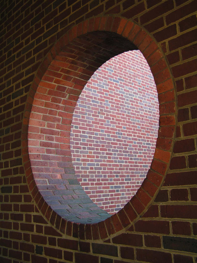 Hole In The Brick Wall by magpienerd on deviantART