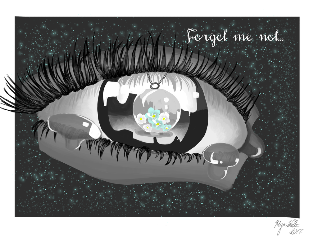 Forget Me Not by myamyamya123