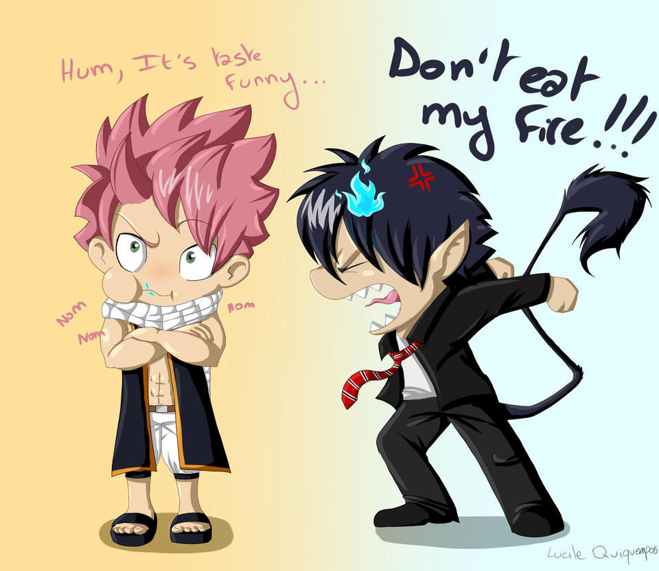 Natsu And Rin By Mioumioune On Deviantart-3288