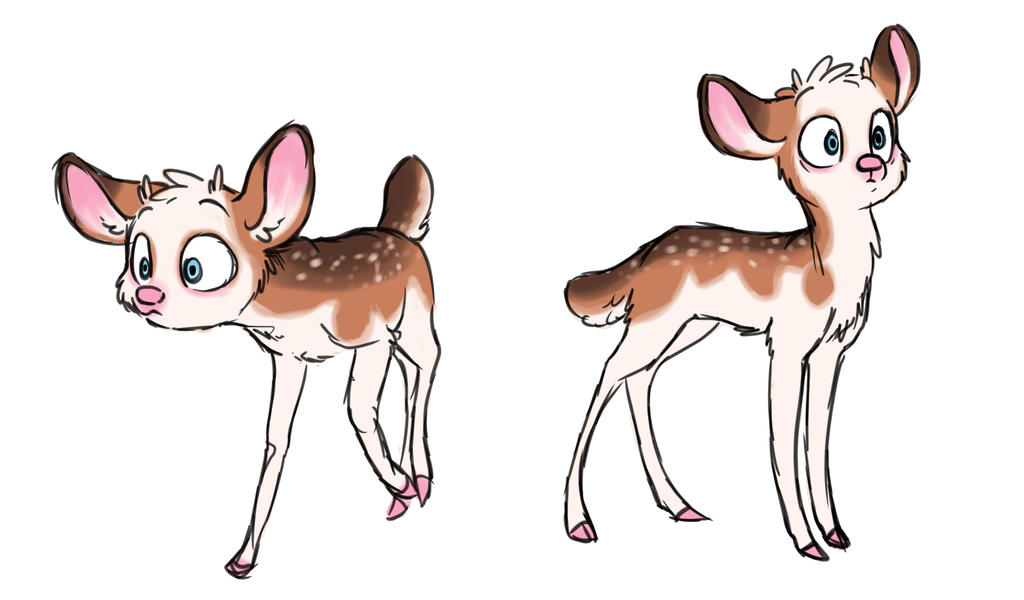 Deerper with depigmentation by Mioumioune