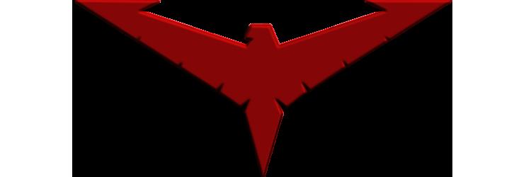 Nightwing Red Logo by Alexbadass on DeviantArt