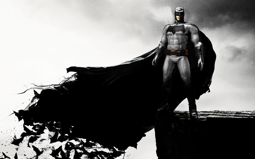Batman ben affleck by alexbadass on deviantart - Ben affleck batman wallpaper ...