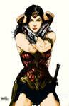 Wonder Woman (Gal Gadot) Classic color