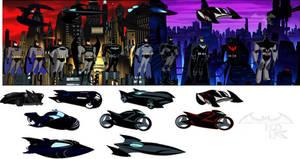 Batman from The DCAU by Alexbadass