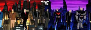 Bruce Wayne from the DCAU