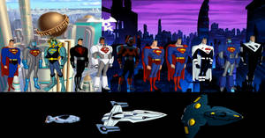 Superman from The DCAU