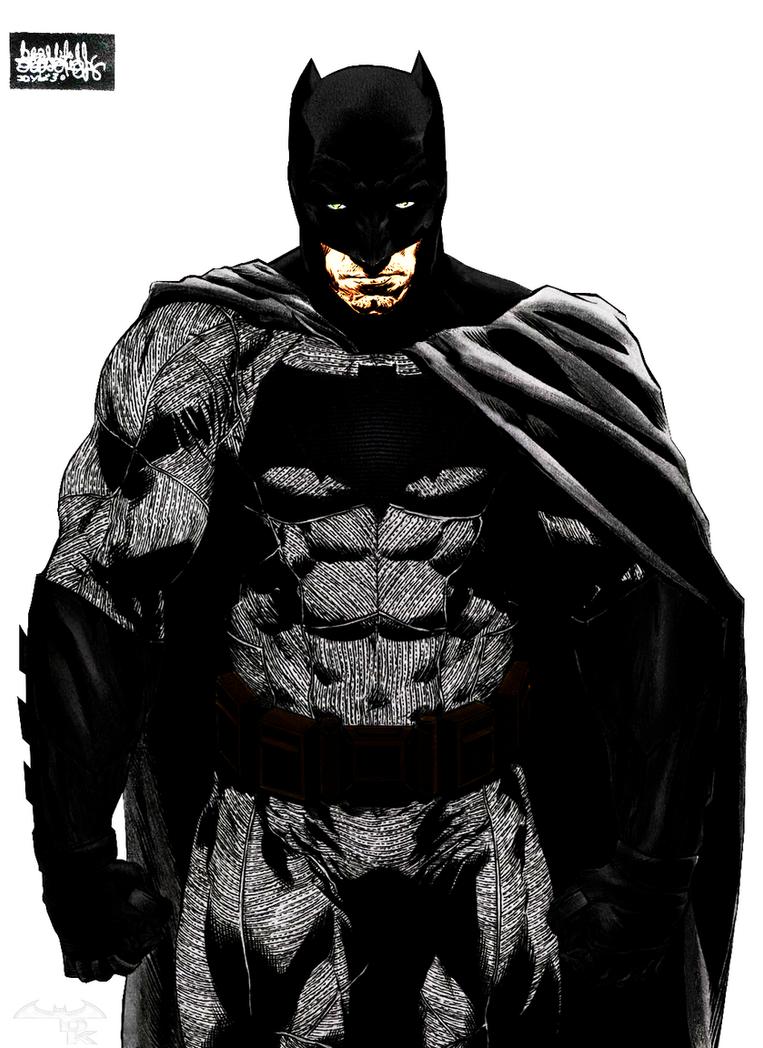 Batman ben affleck dawn of justice by alexbadass on - Ben affleck batman wallpaper ...