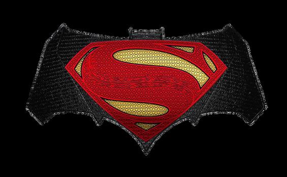 Batman v Superman: Chest logos