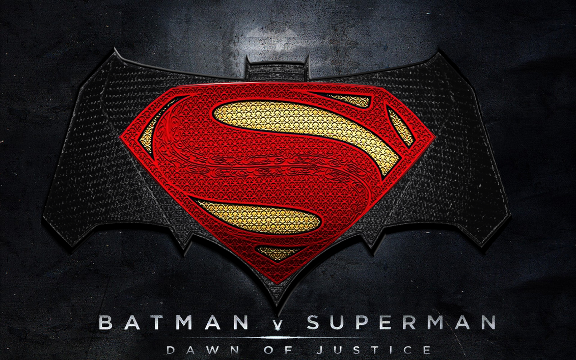 Batman v Superman: Dawn of Justice (new logo) by ...