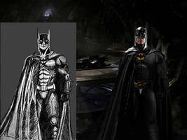 Superman Lives Batman by Alexbadass