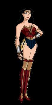 JLU Wonder Woman Dawn of Justice