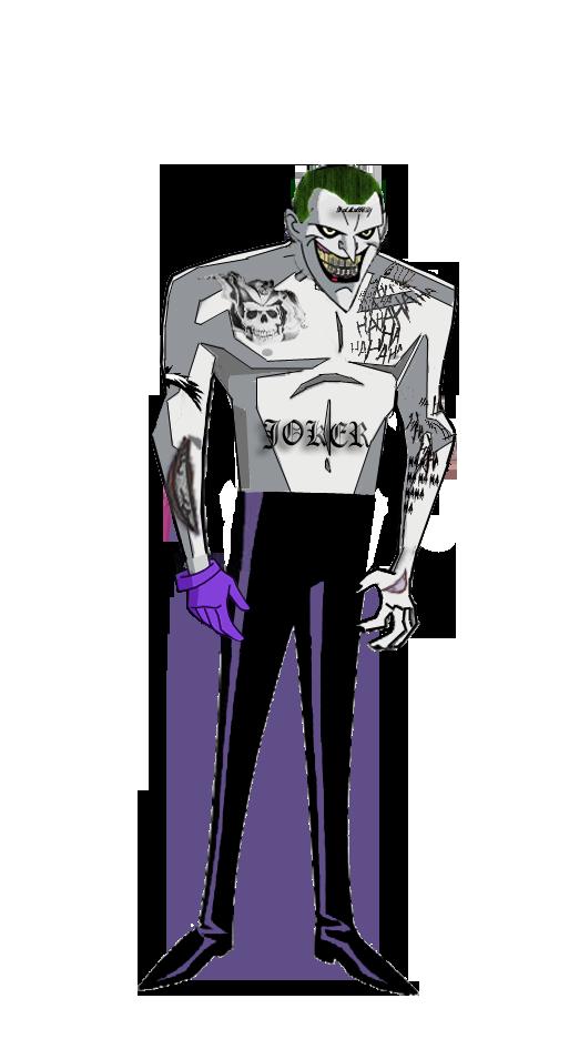 Jl Joker Suicide Squad By Alexbadass On Deviantart