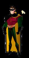 TNBA Robin (Batman Forever suit) by Alexbadass