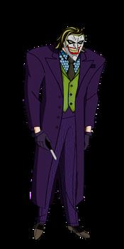 JL The Joker The Dark Knight