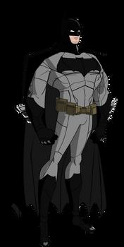 Updated Dawn of Justice Batman JLU Style